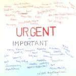 short term, urgent vs. long term, important
