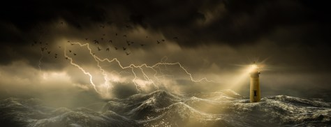 lighthouse-in-a-stormy-sea