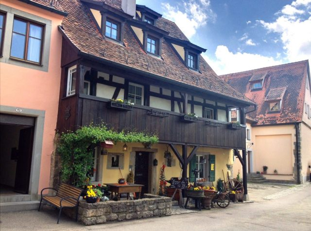 Bed & Breakfast, Rothenburg