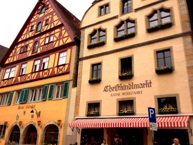 Käthe Wolfahrt Chriskindlmarkt, Rothenburg
