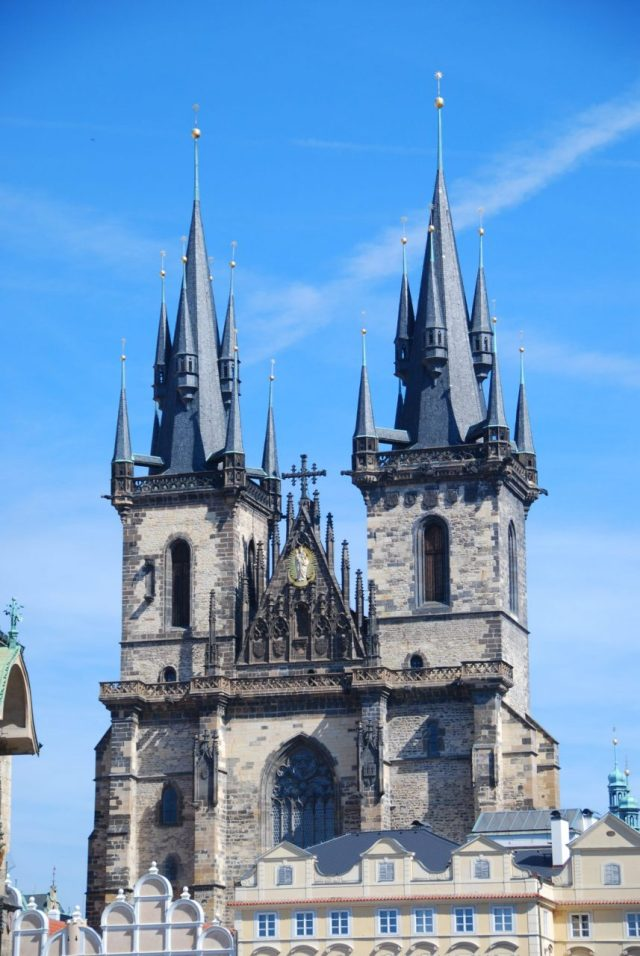 ancient churches and cathedrals in Prague