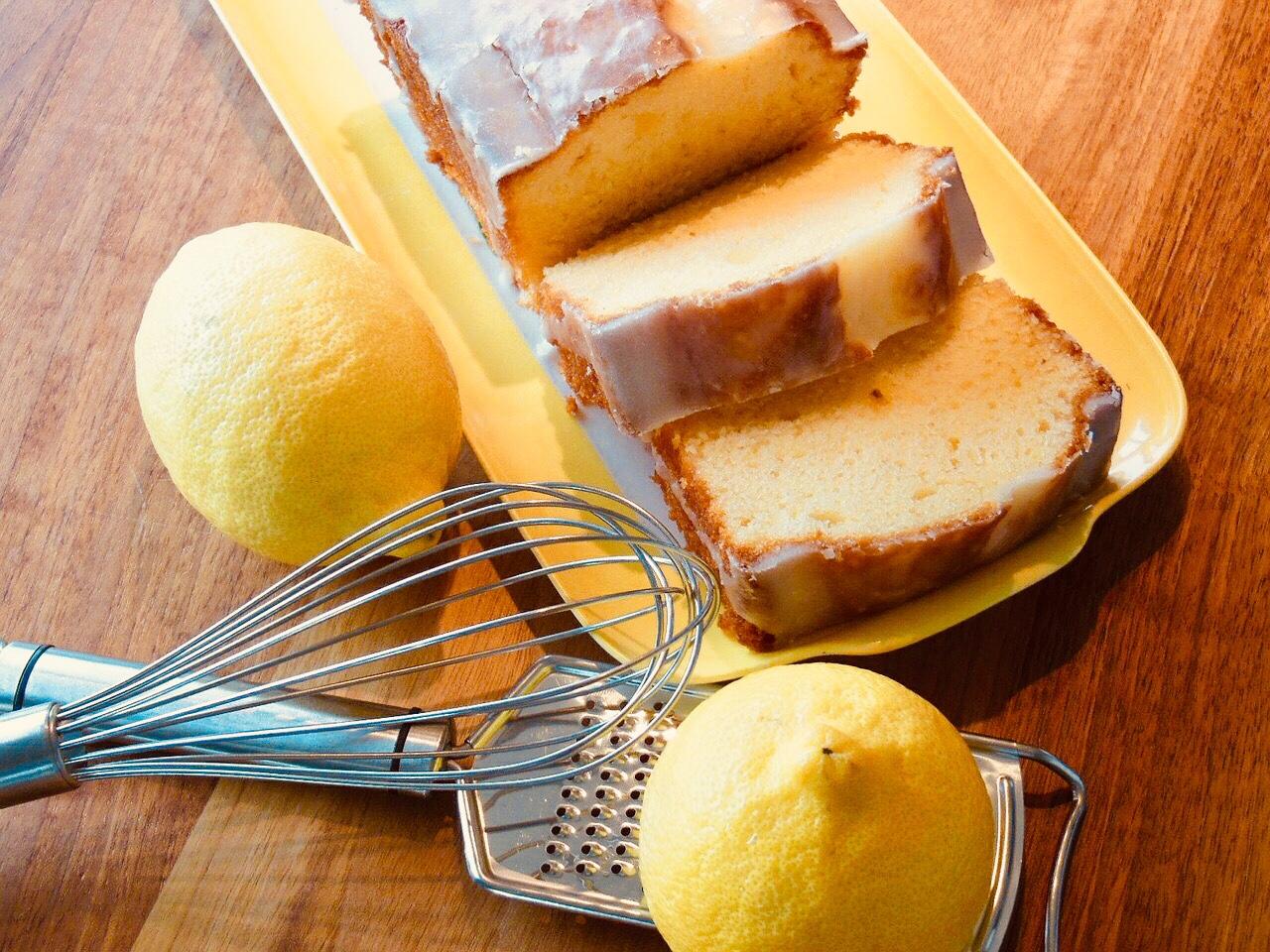 French Lemon Cake (Cake au citron)