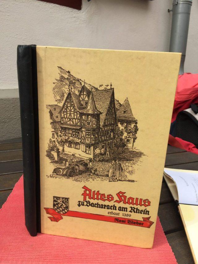 Menu Altes Haus Guesthouse, Bacharach am Rhein, Rhine