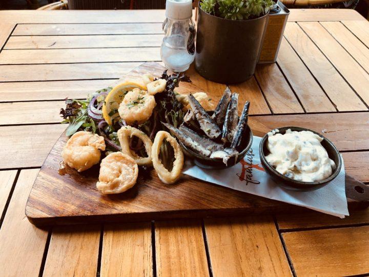 Maastricht, Holland, Netherland seafood appetizer