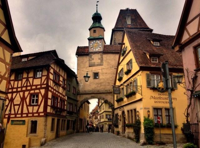 Markusturm with Röderbogen, Rothenburg o.T.