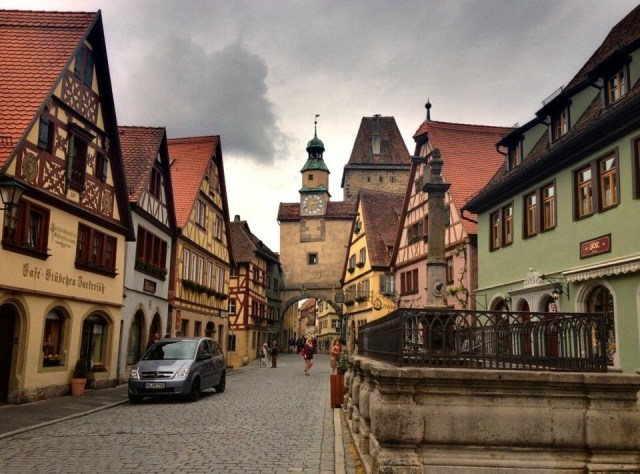 Markusturm with Röderbogen, Rothenburg o.T.