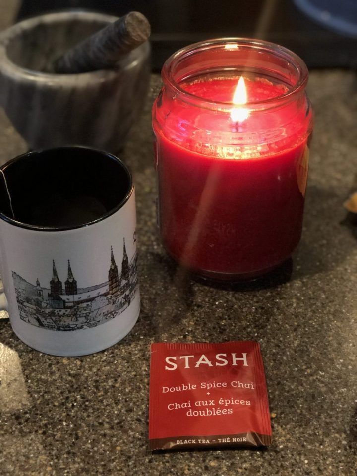 Stash spiced Chai for mulled red wine or Glühwein