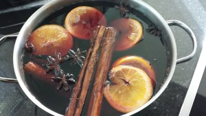 Gluehwein, Glühwein (hot mulled Red Wine)