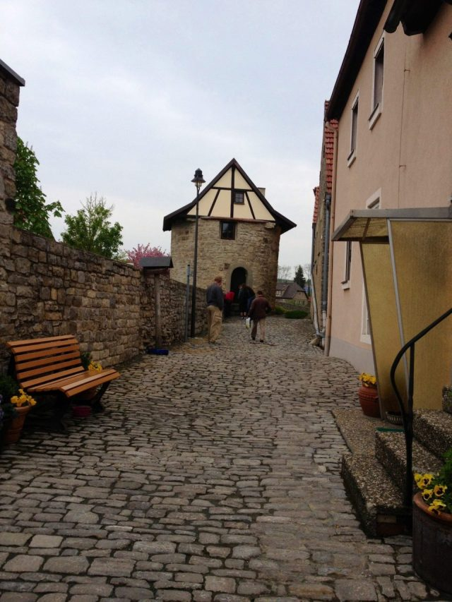 Medieval wall Dettelbach