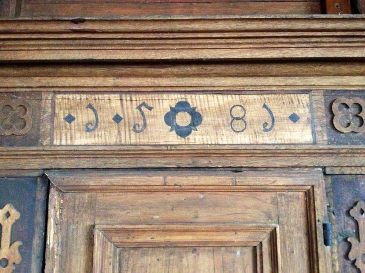 Old door from 1585 Dettelbach
