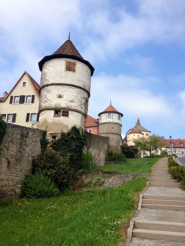 Dettelbach medieval wall
