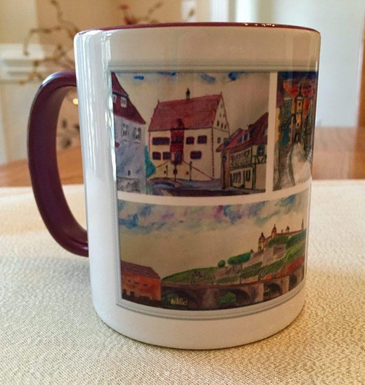 Frankonia watercolor Mug