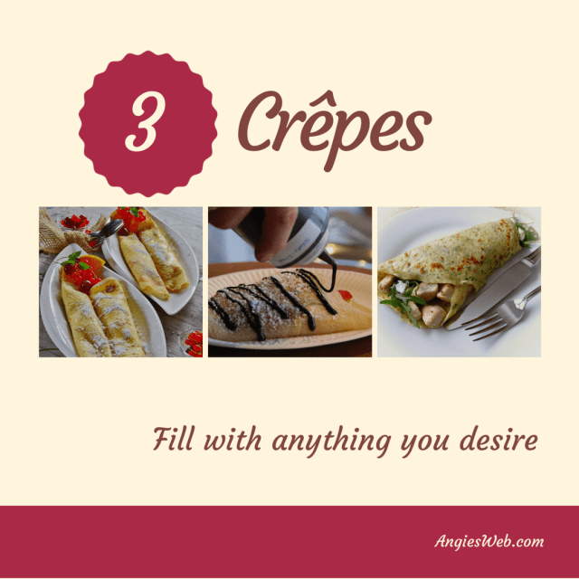 French Crepes recipe