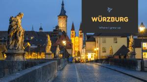 Wuerzburg Alte Mainbrücke banner