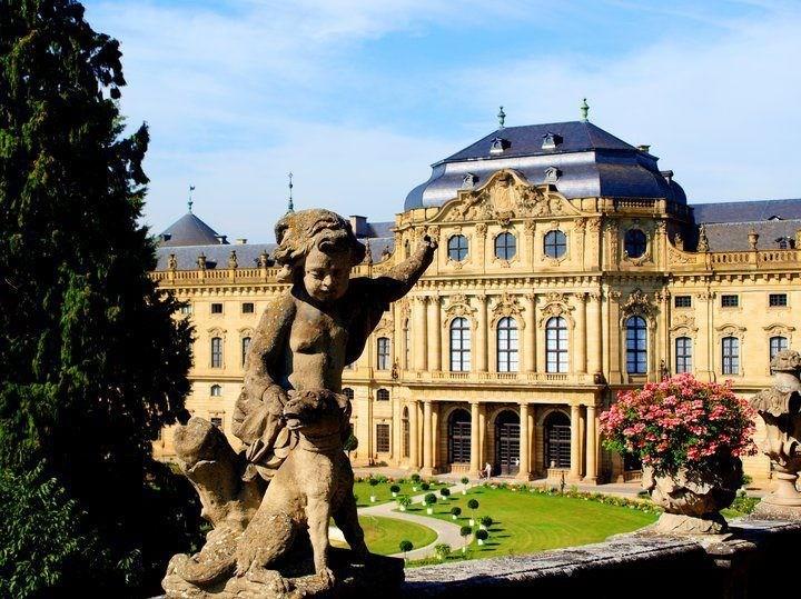 Wuerzburg Residenz castle