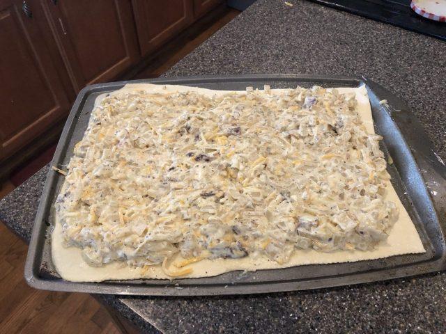 Onion Tart, Zwiebelkuchen dough