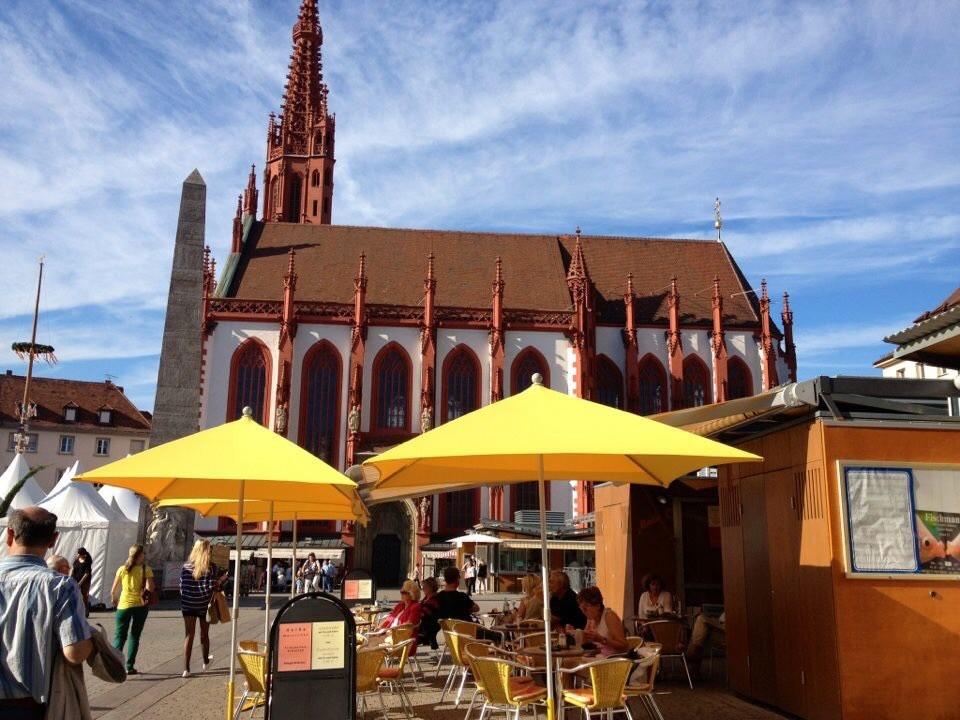 Wuerzburg Marktplatz