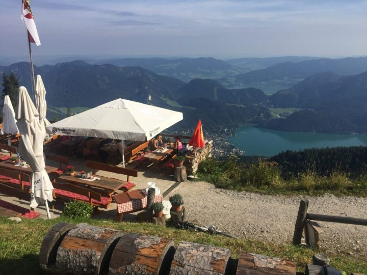Hiking at the Wolfgangssee