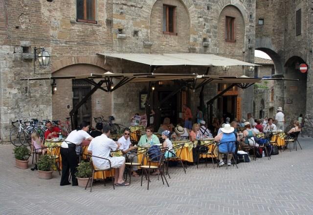 Restaurant Orvieto, Umbria, Northern Italy