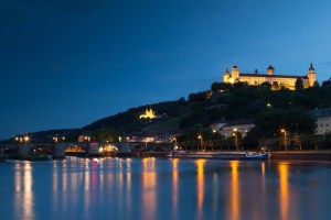 Wuerzburg at night