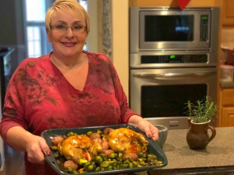Balsamic Cornish Hens presented by Angie