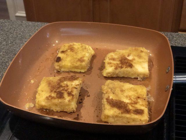 Fried Semolina cakes