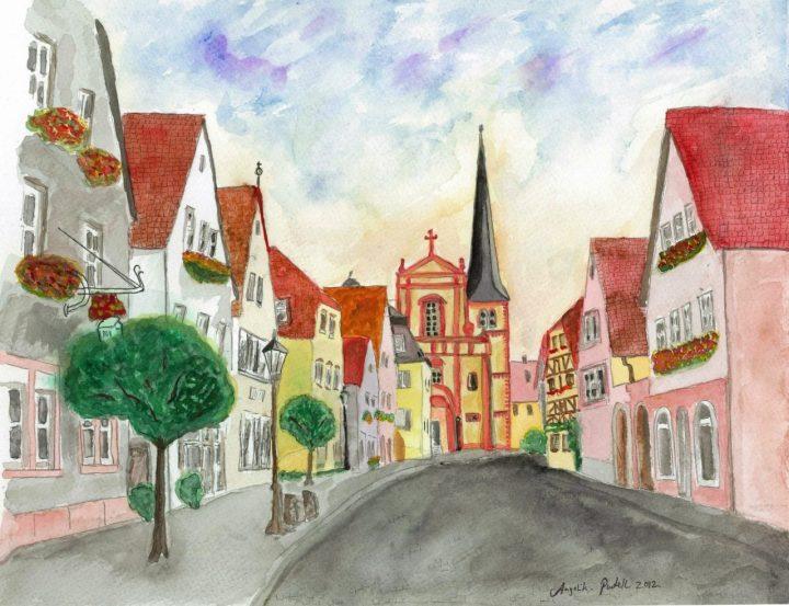 Veitshoechheim Altort Painting