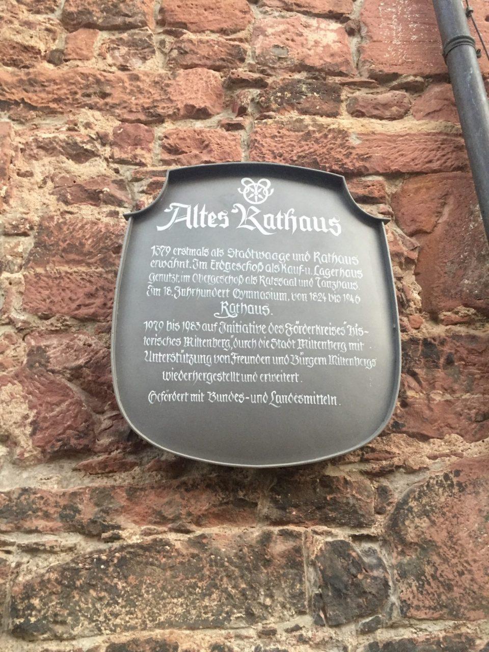 Miltenberg Altes Rathaus