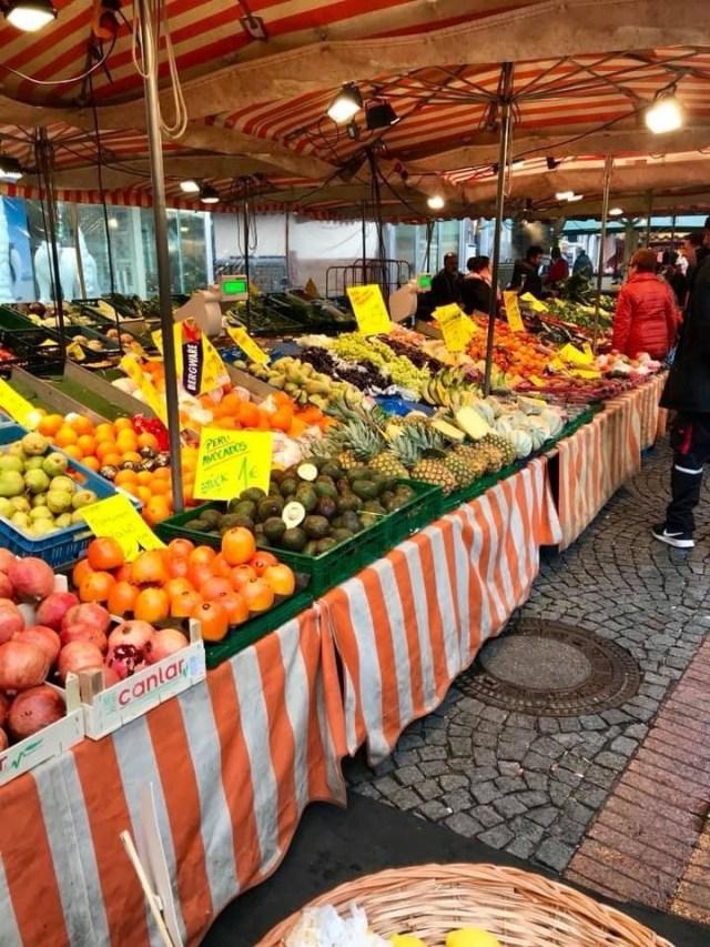 Fruits at a Viktualienmarkt Munich