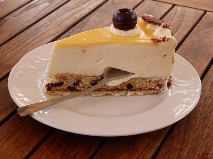 Käsesahne Torte, German Cream cake