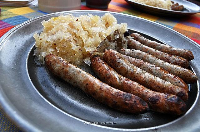 Bratwürste, Sausages Nuremberg