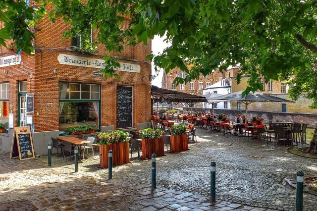 A cafe in Brugge