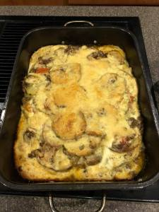 Moussaka Greek dish