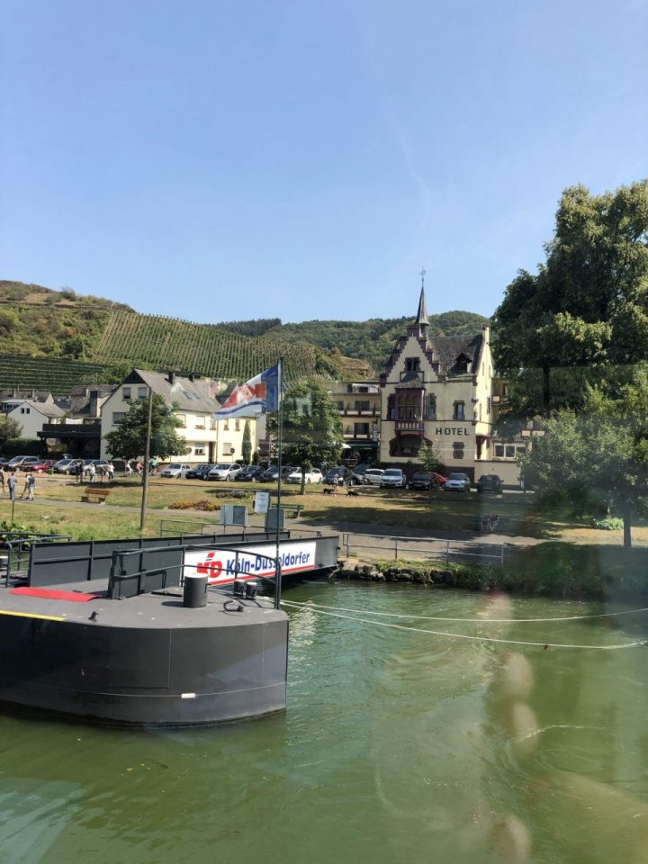 Mosel cruise stop