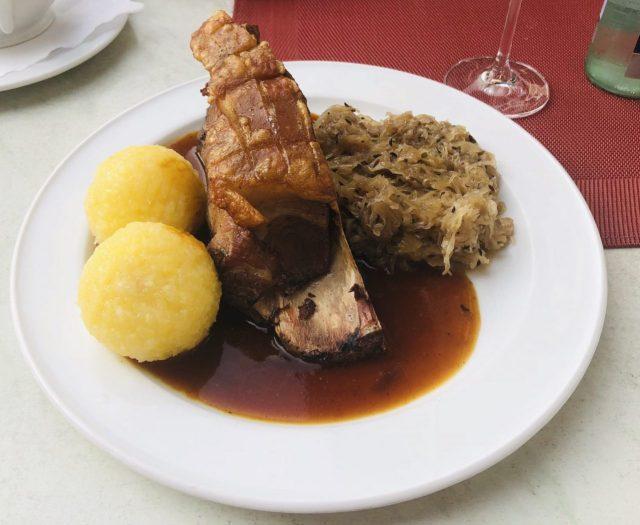 Schaeufele, a Franconian Dish
