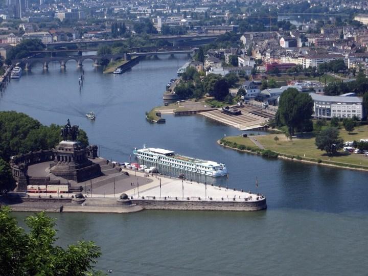 Koblenz Deutsches Eck Denkmal, memorial