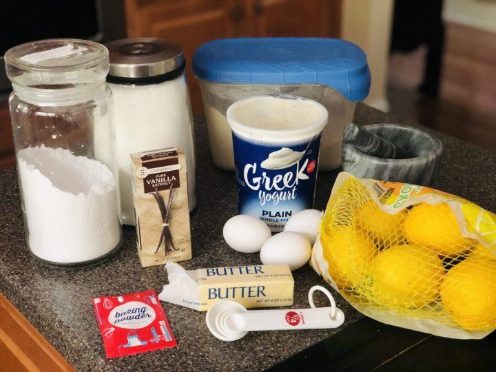 French lemon cake ingredients