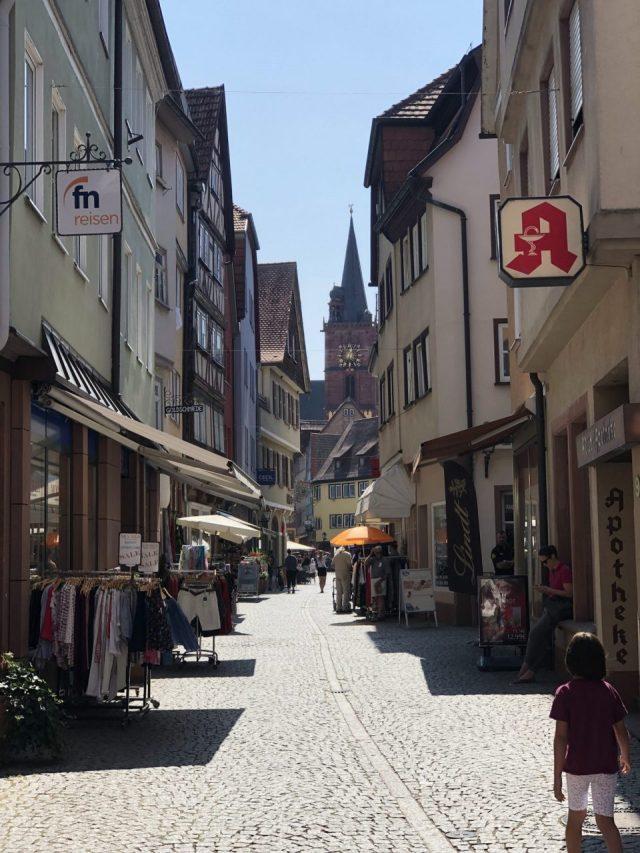 Wertheim shopping