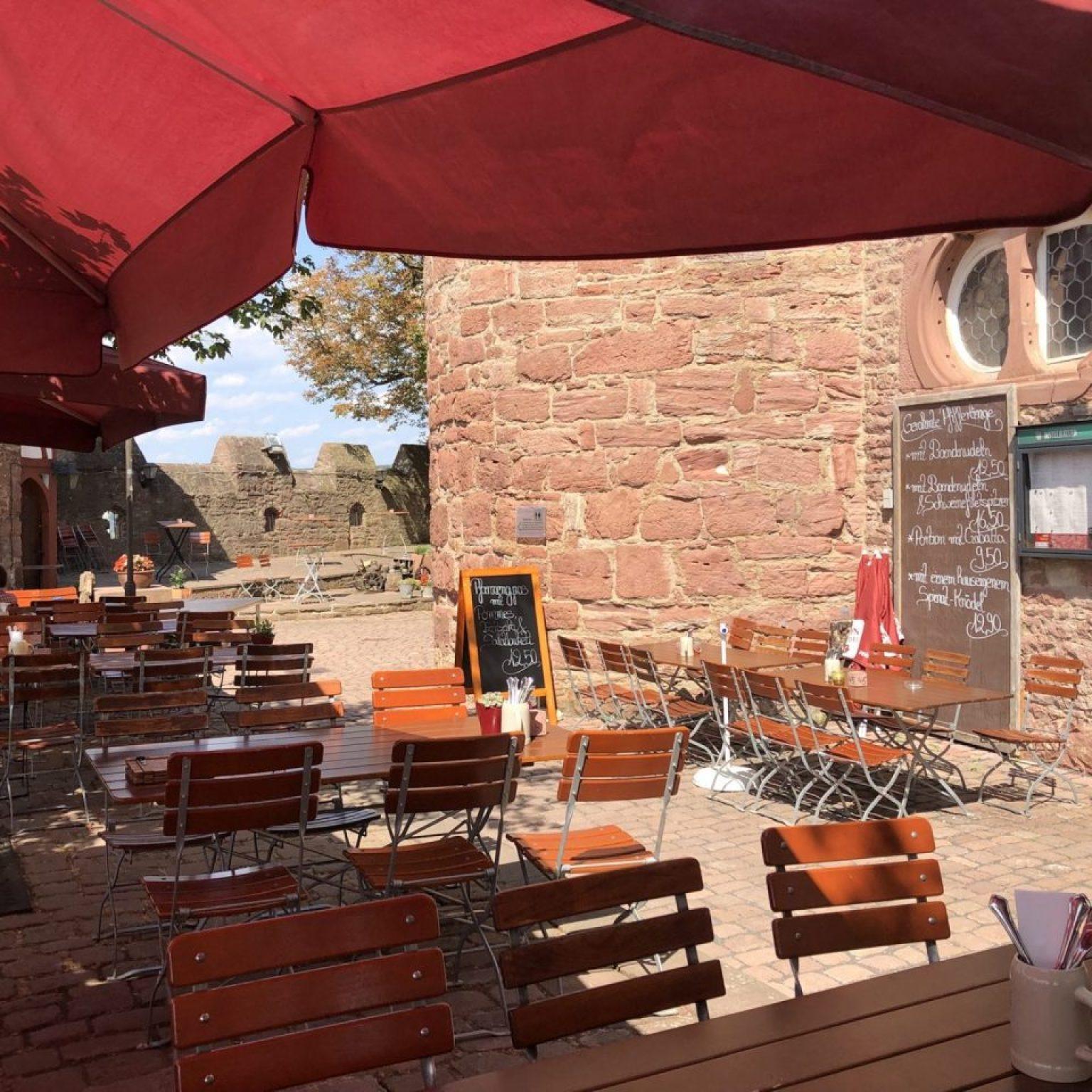 Burg Wertheim Restaurant menu