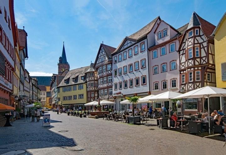 Wertheim main street cafes