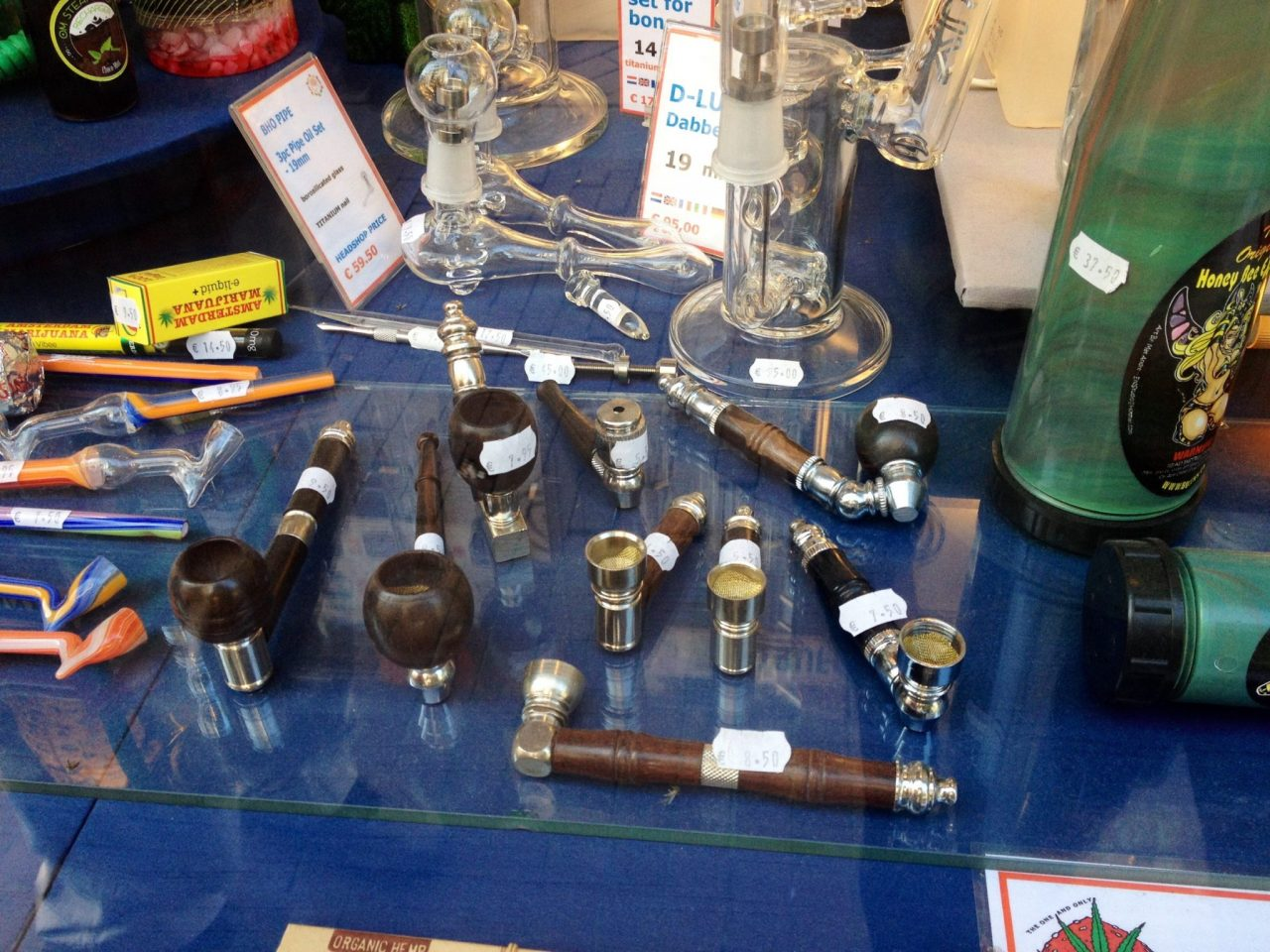 Pipes in Amsterdam