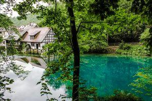 Blautopf, Blaubeuren Baden Württemberg