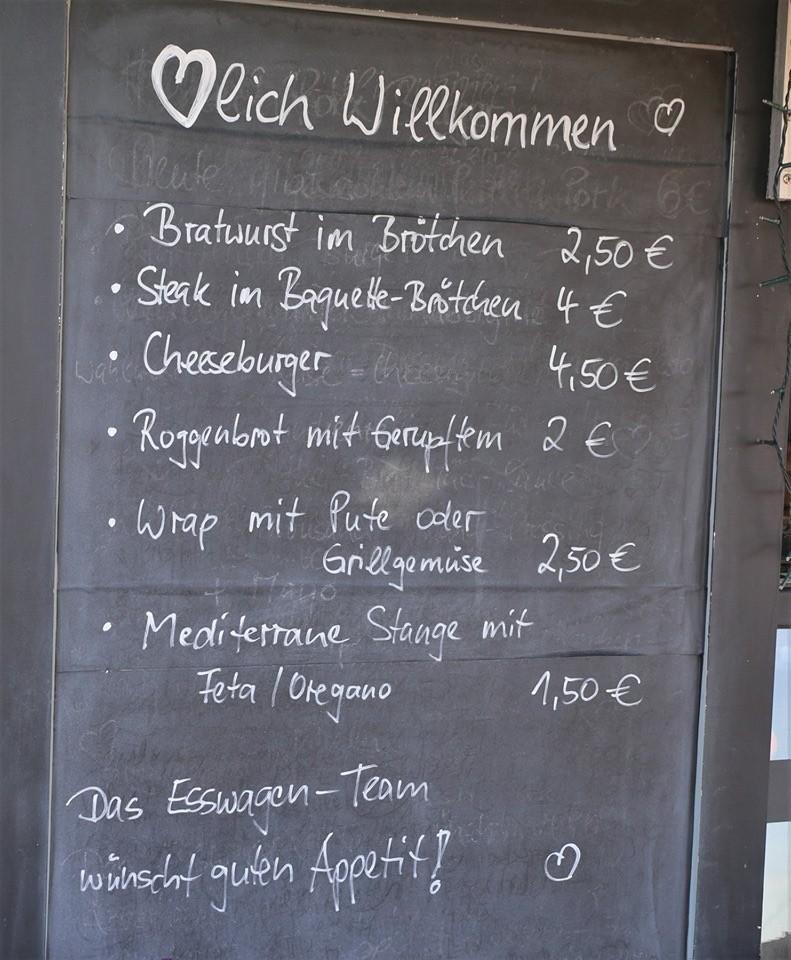 Veitshoechheim Weinwanderung, Winewalk menu, Franconia