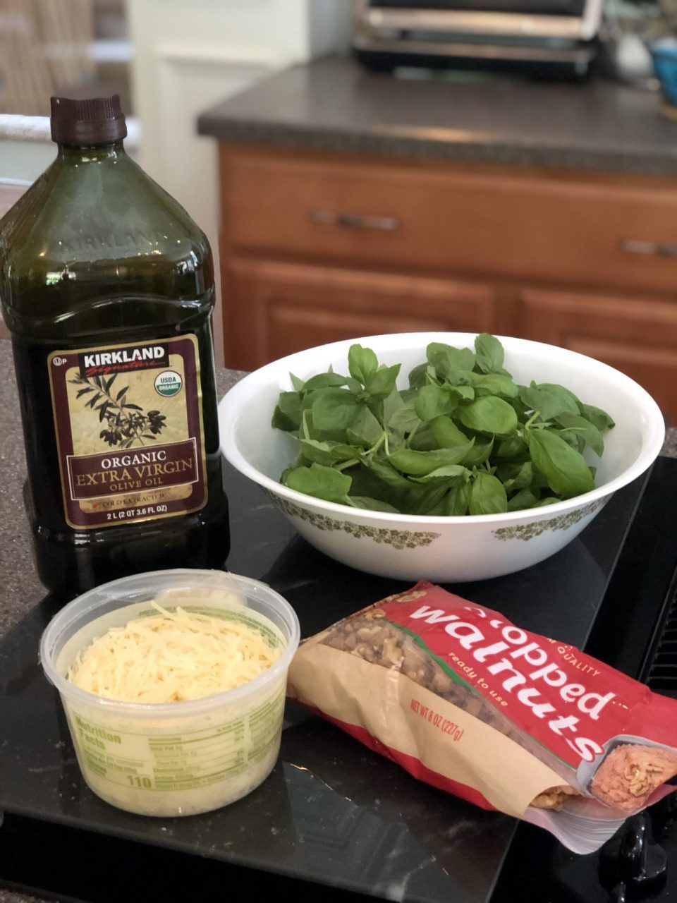 Basil Pesto Ingredients