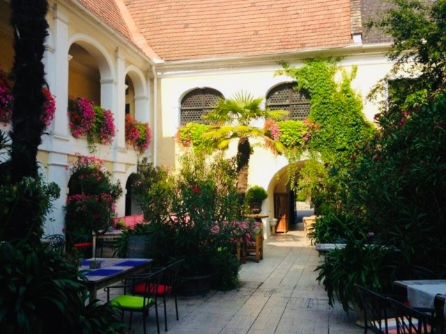 Courtyards in the Wachau
