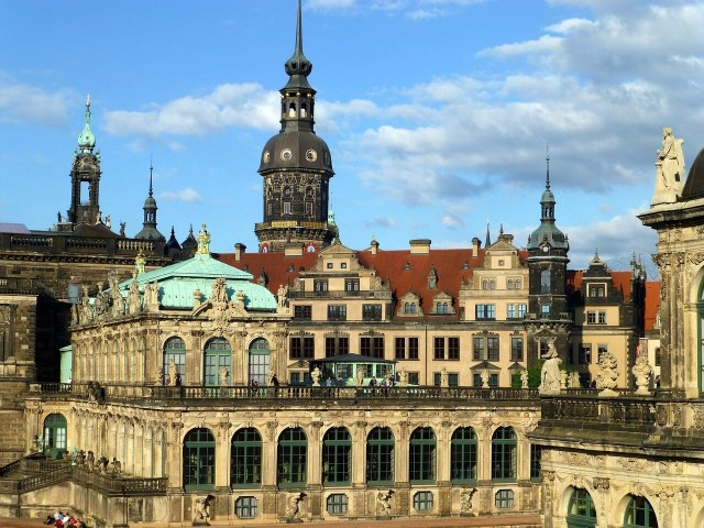 Dresden. Zwinger, Germany