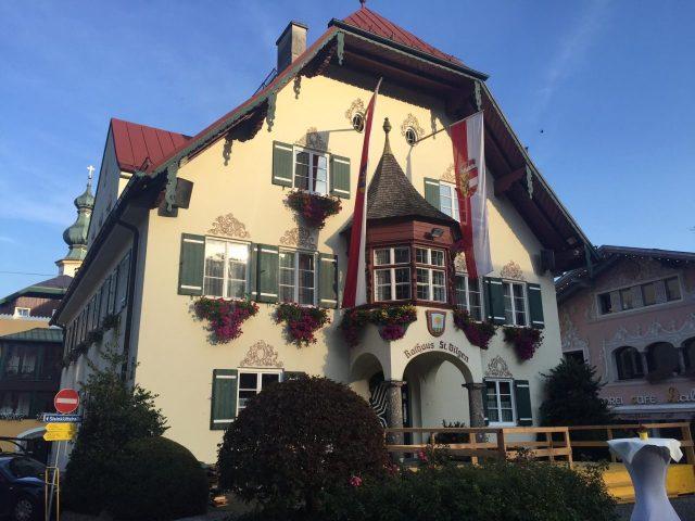 Rathaus, City Hall. Sankt Gilgen