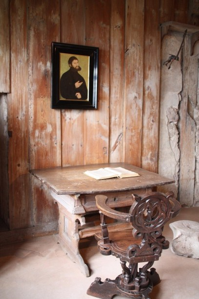Martin Luther's Room in the Wartburg