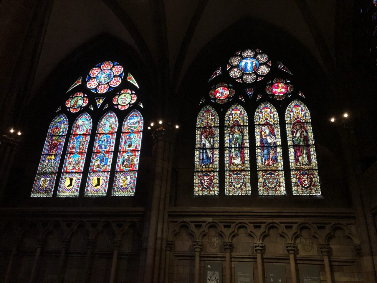 Windows of Freiburg Cathedral, Muenster