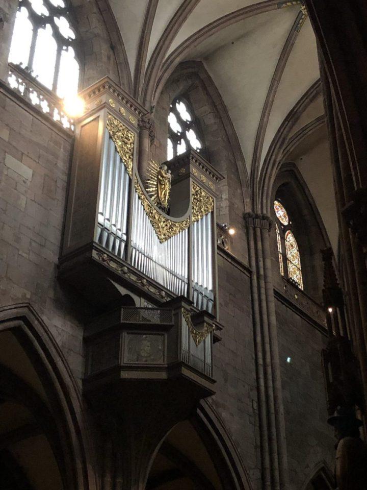 Interior of Freiburg Münster